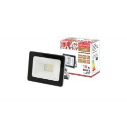 Прожектор светодиодный СДО-04-010Н 10 Вт, 3000 К, IP65, серый, Народный | SQ0336-0284 | TDM