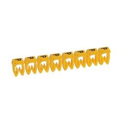 Маркер CAB 3 - для кабеля 1,5-2,5 мм? - заглавная буква P | 038345 | Legrand