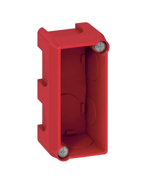 Коробка одномодульная - Программа Batibox - для кирпичных стен - для изделий Mosaic или Celiane - глубина 40 | 080140 | Legrand