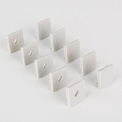 ZLL-2-ALP009 Заглушки для квадратного углового алюм. профиля для LED ленты (10mm) (компл. 5 пар) | a042705 | Elektrostandard
