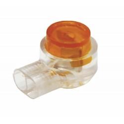 Скотч-лок изолированный К-1, (d=0,4-0,7 мм), D=1,52 мм | 07-5401 | REXANT