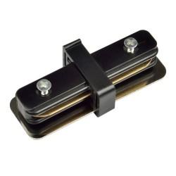 UBX-Q121 K11 BLACK 1 POLYBAG Соединитель для 2-х шинопроводов прямой внутренний. Однофазный. Черный. | UL-00001279 | Volpe