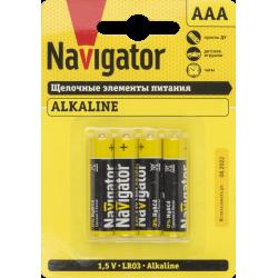 Элемент питания NBT-NPE-LR03-BP4 | 61462 | Navigator