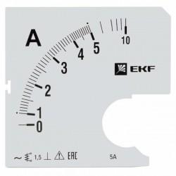 Шкала сменная для A961 5/5А-1,5 EKF PROxima | s-a961-5 | EKF