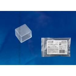 UCW-K10 CLEAR 025 POLYBAG заглушка для LED ленты 220В, 10x7мм, прозрачный, 25 шт в упак | UL-00000870 | Uniel
