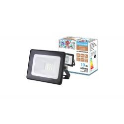 Прожектор светодиодный СДО-04-010Н 10 Вт, 6500 К, IP65, черный, Народный | SQ0336-0260 | TDM