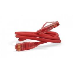 Патч-корд PC-LPM-UTP-RJ45-RJ45-C5e-0.15M-LSZH-RD U/UTP, Cat.5е, LSZH, 0.15 м, красный | 229919 | Hyperline