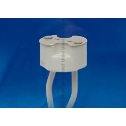 ULH-GU4/GU5.3-Ceramic-15cm Патрон керамический для лампы на цоколе GU4/GU5.3 | 02283 | Uniel