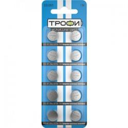 Батарейка щелочная (алкалиновая) G13 (357) LR1154, LR44 (200/1600/134400) (часовая) | C0034935 | ТРОФИ