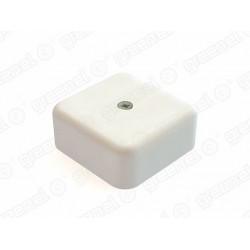 Коробка распределительная для О/П с кабель-каналом  50х50х20мм, IP40, цвет-БЕЛЫЙ (4уп*48шт/192шт) | GE41205-01 | GREENEL
