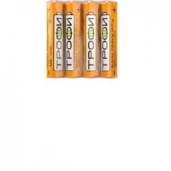 Батарейка солевая (ЭП) R03-4S (60/1200/72000) (AAA) | C0033711 | ТРОФИ
