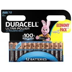 Батарейки Duracell LR03-12BL Ultra | Б0038767 | Duracell