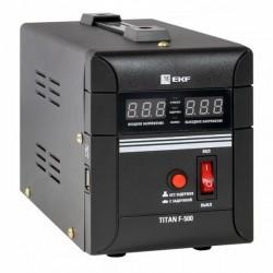 Стабилизатор напряжения напольный 0,5 кВт EKF PROxima | stab-f-500 | EKF