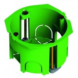 Коробка установочная 68х40 пластиковые лапки, с саморезами (для полых стен) | КУ1203 | HEGEL