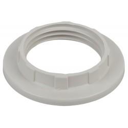 Кольцо для патрона E14, пластик, белое | Б0043679 | ЭРА