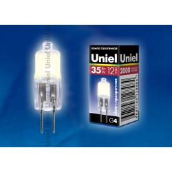 JC-12/35/G4 CL лампа галогенная | 00825 | Uniel