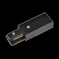 Коннектор шинопровода прямой SC-1B-TL черный серии TOP-LINE | 4690612029351 | IN HOME