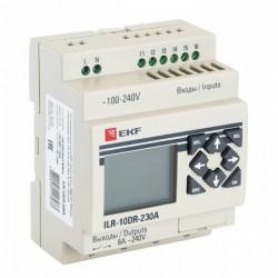 Программируемое реле 10 в/в с диспл. 230В PRO-Relay EKF PROxima | ILR-10DR-230A | EKF