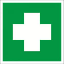 """Знак безопасности BL-1515.EC01""""Аптечка первой медицинской помощи""""   a12886   Белый свет"""