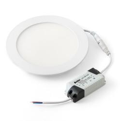 Светильник светодиодный ДВО 20Вт встраиваемый круг белый 4000К металл 174(158)мм (ультратонкий) | DSV-0731 | DEKOlabs