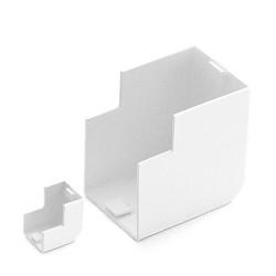 Кабель-канал белый 2-й замок в п/э 80х40 (24 м/уп) | 250386 | Э-Пласт