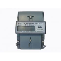 Счетчик Меркурий 206 RN 5-60А/230В (мнтар.) ЖКИ (DIN)