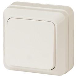 2-101-02 Intro Выключатель, 10А-250В, IP20, ОУ, Quadro, сл.кость | Б0027632 | Intro