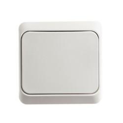ЭТЮД О/У Белый Выключатель 1-клавишный | BA10-001B | Schneider Electric