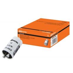 Стартер S2 4-22Вт 110-240В алюм. контакты   SQ0351-0021   TDM