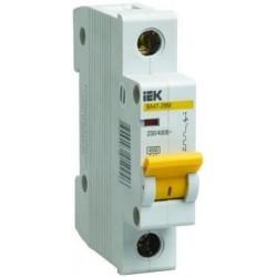 Выключатель автоматический однополюсный ВА47-29М 1,6А B 4,5кА | MVA21-1-D16-B | IEK