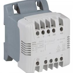 Трансформатор упр. и обеспеч. безопасности - первичная обмотка 230 В / вторичная обмотка 24 В - 160 ВА | 044214 | Legrand
