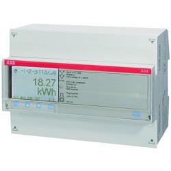Счетчик 3-фазный активно-реакт. энергии(2Н),1-тарифный,кл. точности 1,трансф. вкл. 1(6)А, имп. выход,RS485,тип A44 212-200 | 2CMA100123R1000 | ABB