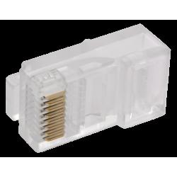 Разъём RJ-45 UTP для кабеля витая пара ШПД | CS3-1C5EU-BC | ITK