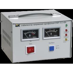 Стабилизатор напряжения СНИ1-0,5 кВА однофазный восстановленный | IVS10-1-00500R | IEK