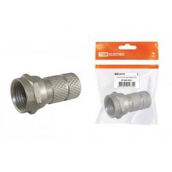 Разъём F RG59, инд. упаковка | SQ1809-0025 | TDM