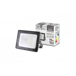 Прожектор светодиодный СДО-04-010Н 10 Вт, 4000 К, IP65, серый, Народный | SQ0336-0280 | TDM