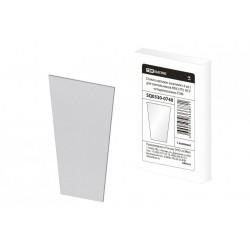 Стекло матовое (комплект 4 шт.) для светильников НБУ, НТУ, НСУ четырехгранник | SQ0330-0740 | TDM