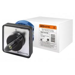 Кулачковый переключатель КПУ11-10/0103 | SQ0715-0150 | TDM