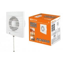 Вентилятор бытовой настенный 100 СВ, с выключателем, | SQ1807-0016 | TDM