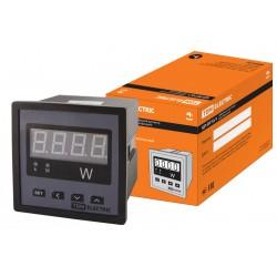 Цифровой ваттметр (однофазный) ЦП-ВТ72/1 0-9999МВт-220В-0,5 (акционный)   SQ1102-0510   TDM