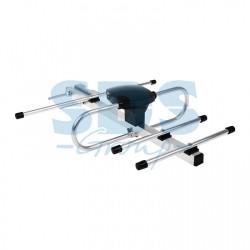 ТB антенна наружная для цифрового телевидения DVB-T2 (модель RX-407) (пакет) | 34-0407 | REXANT