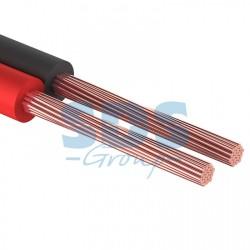 Кабель акустический 2х0,35 мм? красно-черный (м. бухта 20 м) | 01-6102-3-20 | REXANT