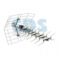 ТВ антенна наружная «Активная» для аналогового и цифрового ТВ - DVB-T2 (модель RX-413) (коробка) | 34-0413 | REXANT