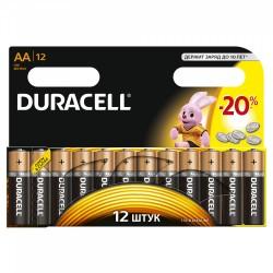 Элемент питания Duracell LR6-12BL BASIC | C0037388 | Duracell