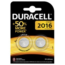 Батарейки Duracell DL/CR2016-2BL | Б0037271 | Duracell