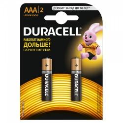 Элемент питания Duracell LR03-2BL BASIC | Б0026812 | Duracell