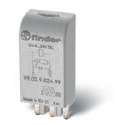 Модуль индикации; зеленый LED; 110...240В AC/DC | 9902023059 | Finder