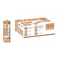 Элемент питания R6 AA Zinc Carbon 1,5V SH-4 Народный | SQ1702-0020 | TDM