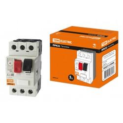 Пускатель ПРК32-4 In=4A Ir=2,5-4A Ue 660В | SQ0212-0008 | TDM