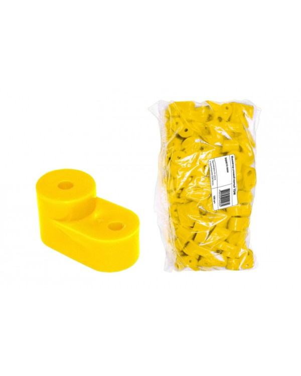 Изолятор угловой желтый   SQ0810-0004   TDM